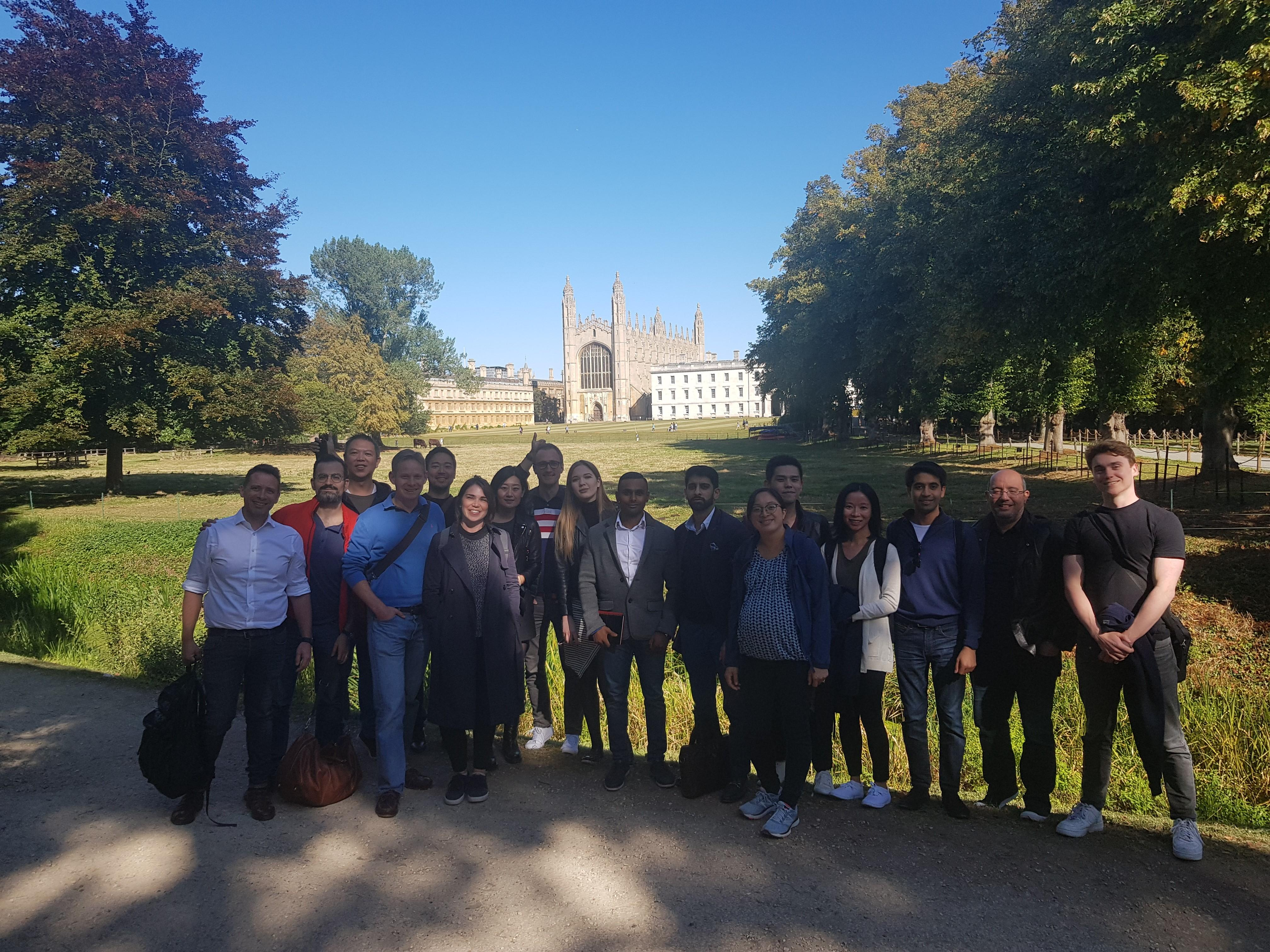 A warm welcome to our new cohort of MSt in Real Estate students 2019