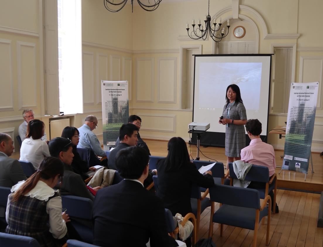 Cambridge International Behavioural Sciences and Urban Studies Symposium 19th-22nd May 2019